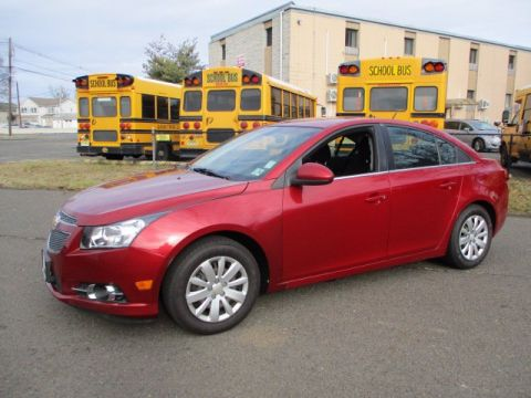 Pre-Owned 2011 Chevrolet Cruze LT w/1LT